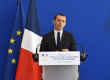 Presentation Du Projet De Loi De Transformation De La Fonction