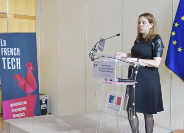 Axelle Lemaire, le 12 octobre 2015, à Bercy © MEF