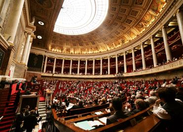 Visuel de l'Assemblée nationale