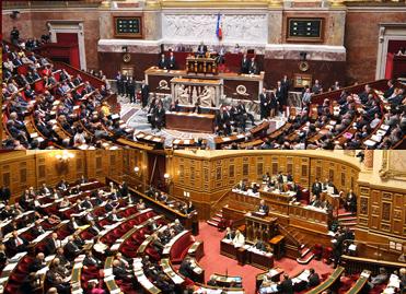 Hémicycle de l'Assemblée nationale - Hémicycle du Sénat