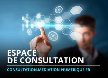 Consultation sur la médiation numérique dans les territoires