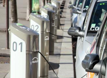 Bornes de recharge véhicules électriques