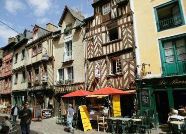 Centre-ville dans l'Ille-et-Vilaine ©Phovoir.fr