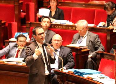 Benoît Hamon à l'Assemblée nationale, le 3 juillet 2013 - © Margot L'hermite