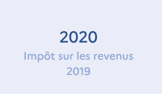 Ouverture de la campagne de déclaration de revenus pour 2020