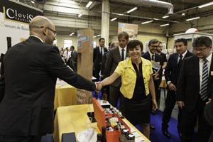 Carole delga au salon des pme et de l 39 innovation le for Salon des pme