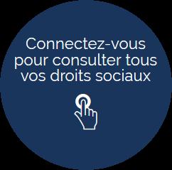 Connectez-vous pour consulter tous vos droits sociaux