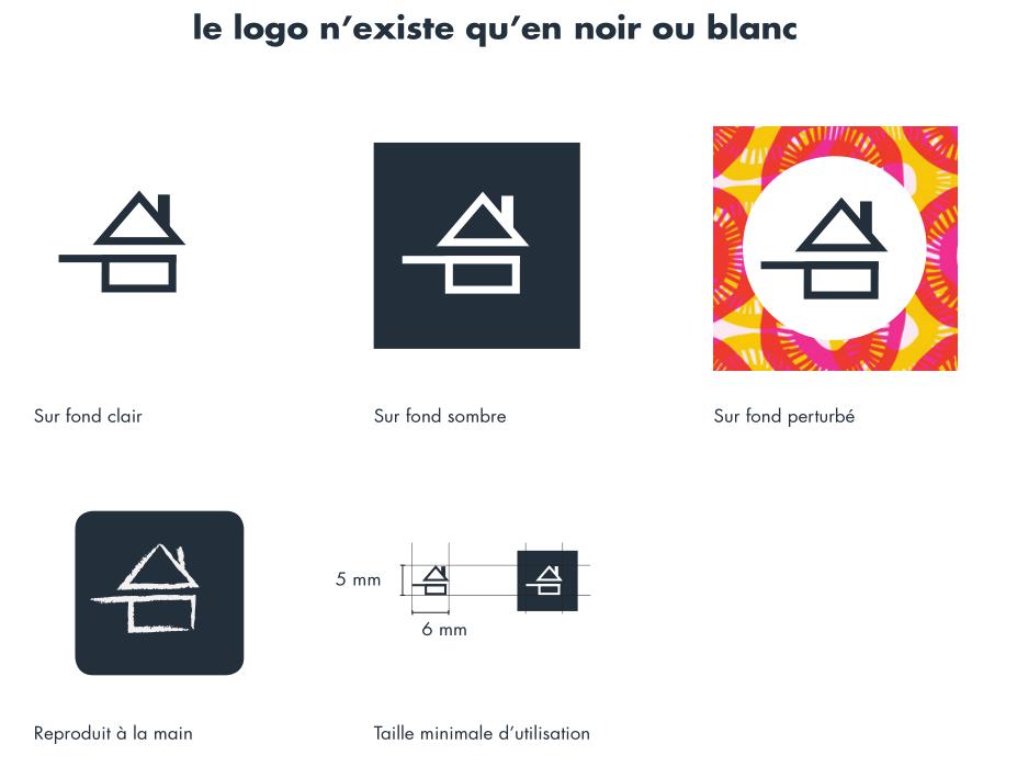 Logo fait maison for Logo avec une maison