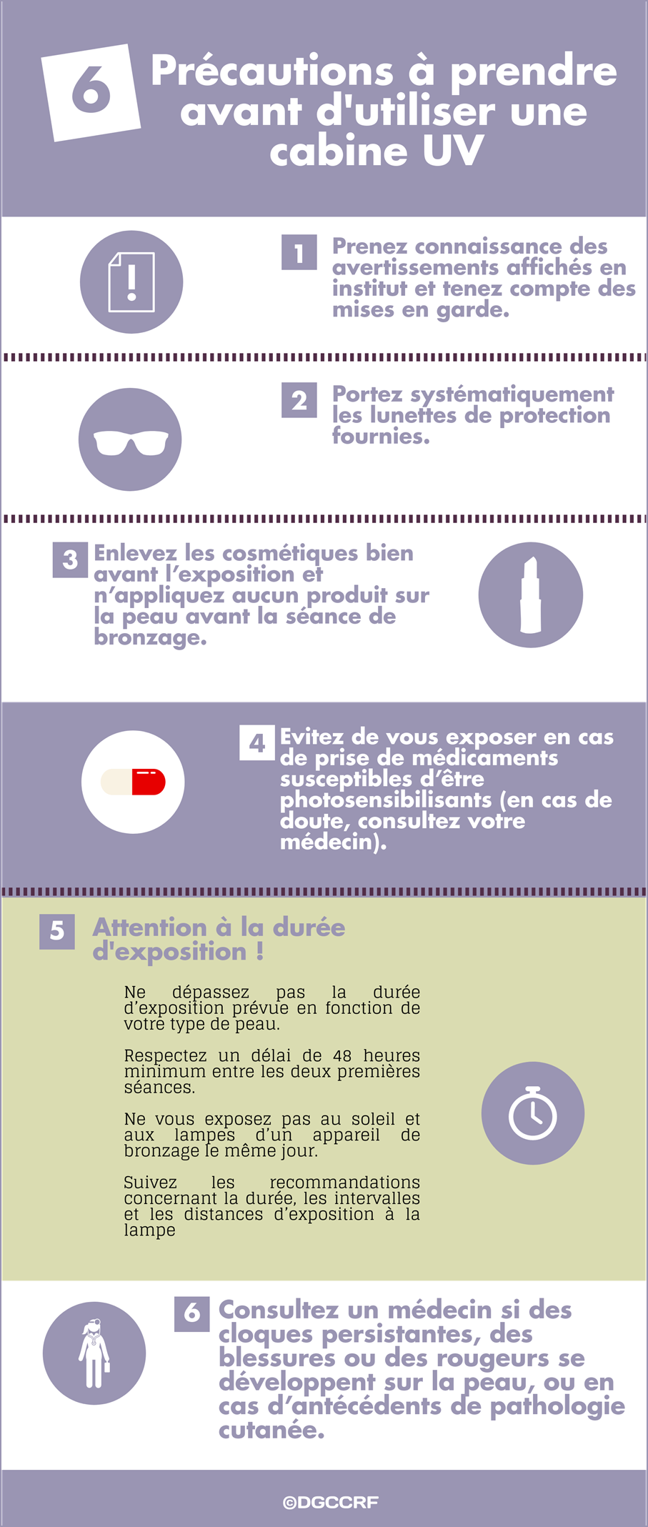Dgccrf Bronzage En Institut Les Précautions Dusage Le Portail