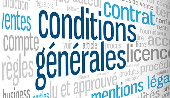 Conditions Generales De Vente Economie Gouv Fr