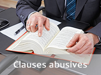 Clauses abusives