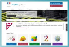 Dgfip Services En Ligne Le Portail Des Ministeres Economiques Et