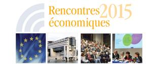 Rencontres économiques 2015
