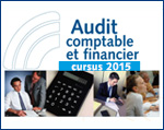 Audit comptable et financier : cursus 2015