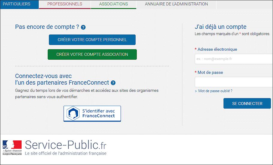 Acceder Aux Administrations En Ligne Avec Franceconnect Le Portail