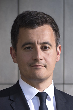 Photo de portrait de Gérald Darmanin