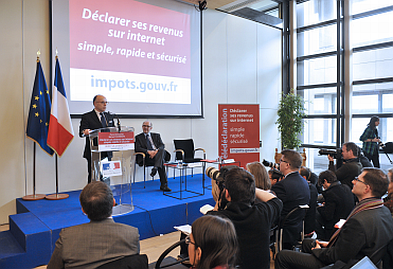 Lancement de la campagne 2013 de l'impôt sur le revenu