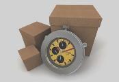 Horloge et cartons