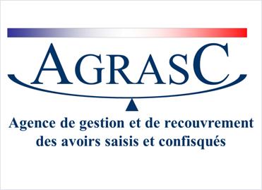 Logo de l'Agence de gestion et de recouvrement des avoirs saisis et confisqués