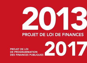 Le projet de loi de finances pour 2013