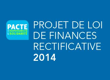 Projet de loi de finances rectificative 2014