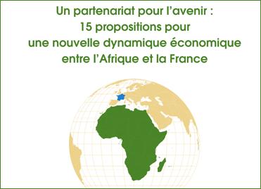 Couverture du rapport « Afrique France : un partenariat pour l'avenir » (H. Védr