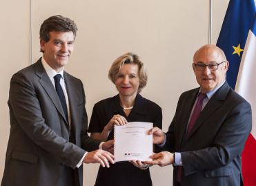 Remise du rapport sur le financement des TPE en France