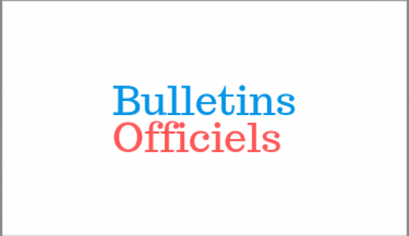 bulletins officiels
