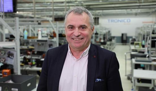 Patrick Collet, Directeur général de Tronico