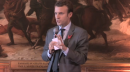 Emmanuel Macron lors de son intervention