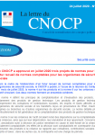 1ère page Lettre CNOCP n° 30