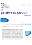 1ère page Lettre CNOCP n° 31