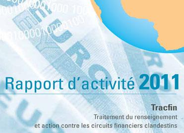 Rapport d'activité 2011 de Tracfin